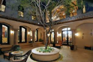 spanish style homes with courtyards spanish colonial estate luxury calvis wyant homes