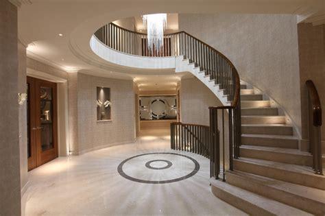 Foyer Treppen by Foyer 10 000sqft Residence Radlett