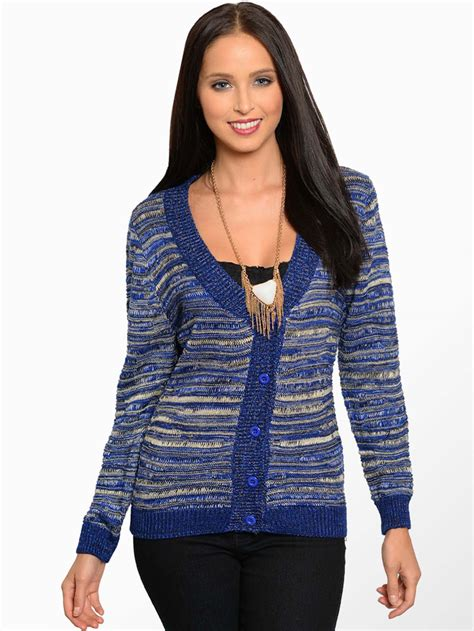 blue knit sweater blue knit cardigan sweater modishonline