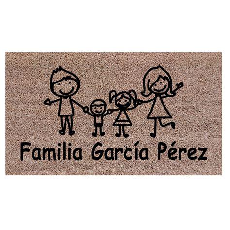 felpudo personalizado felpudos personalizados felpudo personalizado familia
