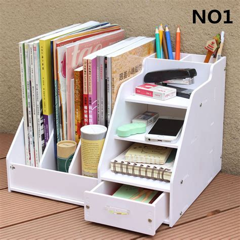 Diy Office Desk Accessories Diy Office School Supplies Desk Accessories Stationery Organizer File Tray Magazine Makeup