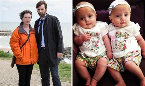 david tennant twin broadchurch twin babies just eight months old take