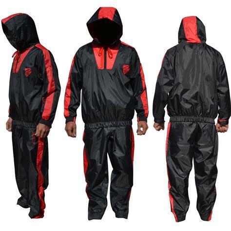 Sweat Suit Sauna aqf heavy duty sauna sweat suit track suit weight loss