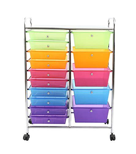 15 drawer organizer cart finnhomy 15 drawer rolling cart storage rolling carts with