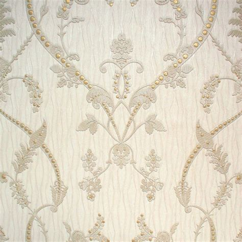 monika italian damask cream wallpaper  uncategorised