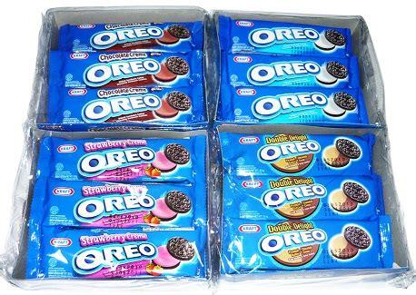 Oreo 29 4gr oreo bibica chocochip biscuit cookie