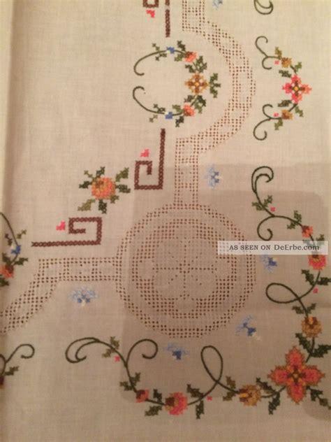 tischdecken handarbeit tischdecke handarbeit stickerei