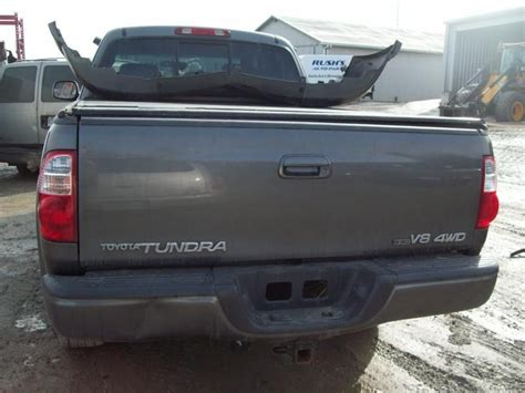 2006 toyota tundra tailgate used 2006 toyota tundra rear decklid tailgate w o