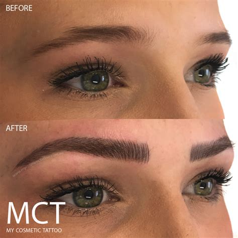 tattoo eyebrows ta fl 3d eyebrow tattoo before and after www imgkid com the