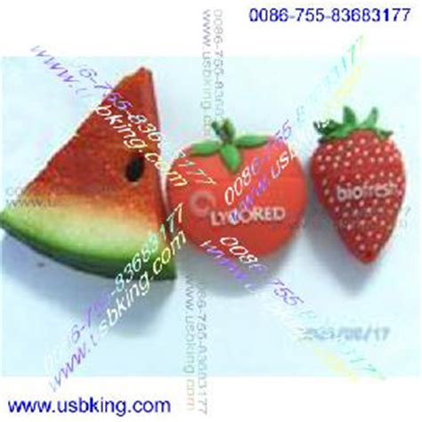 Flash Disk Cheese Cake Strawberry 16gb fruit food sushi strawberry apple watermelon