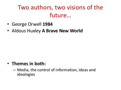 brave new world control theme communications and new media 2014