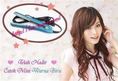 Sale Catok Mini 2 In 1 Heidi Catok Lurus Dan Keriting Haidi hair bestfriend kit mini fleco hairdryer nano ion