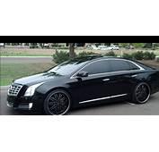 The Cadillac XTS Platinum MurdaOut Black