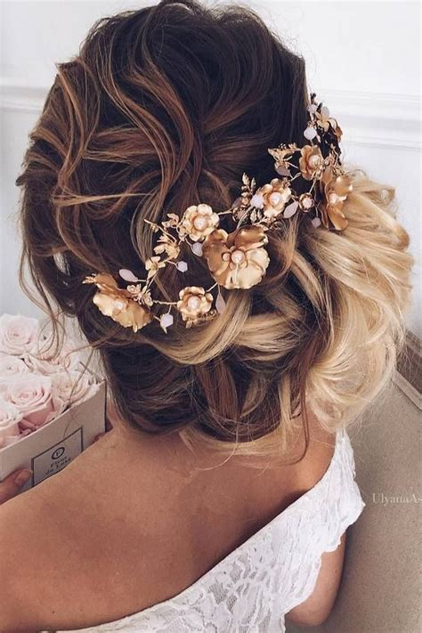 Wedding Hairstyles With Jewels by Wedding Hair With Flowers Jewels Ulyana Aster