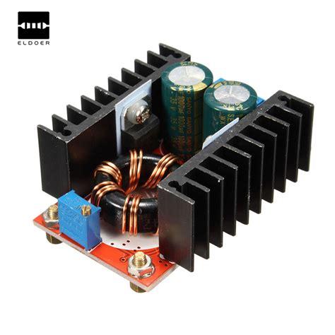 Dc Boost Converter Step Up 150w 6a Penaik Tegangan Volt Dc 150w dc dc boost converter 10 32v to 12 35v 6a step up power supply module diy electric step up