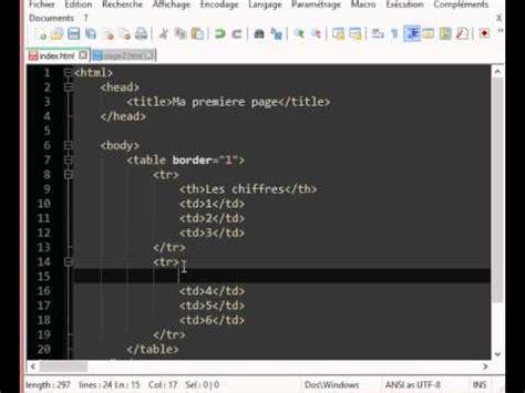 Tutoriel Tableau Css   tutoriel html css partie 9 ajouter des titres au tableau