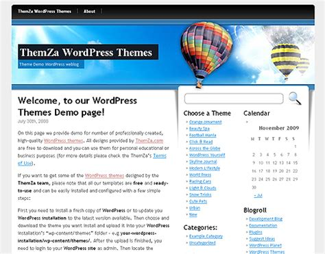 theme wordpress libre c 233 leste 233 tendue libre wordpress th 232 me par themza