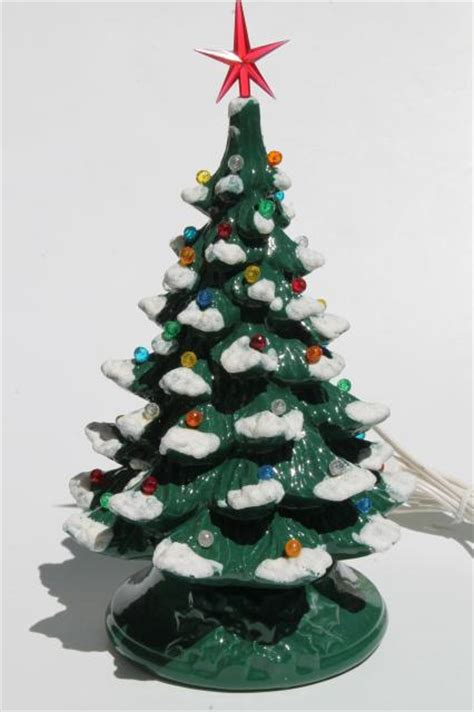 vintage ceramic lighted tree retro ceramic tree lighted electric 28 images retro