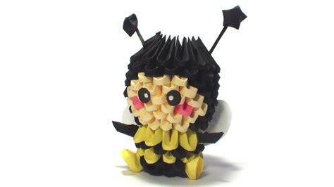 Origami Bee - 3d origami bee kid