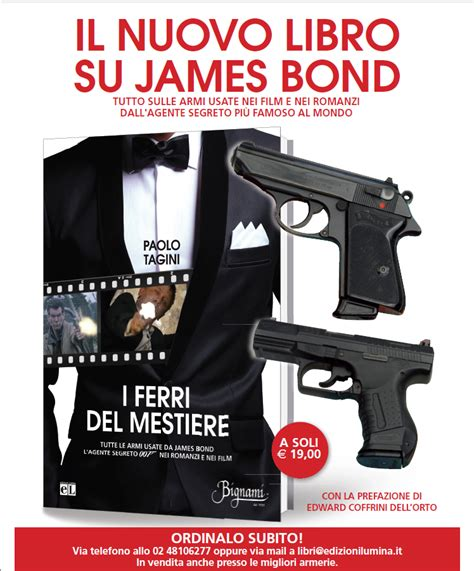 libro james bond spectre the i ferri del mestiere paolo tagini il nuovo libro su james bond