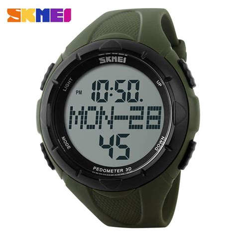 Jam Tangan Vinergy Water Resistant skmei jam tangan digital pria dg1122s army green jakartanotebook