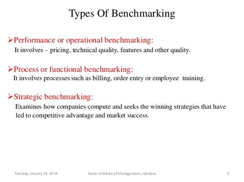 bench marking definition benchmarking tqm