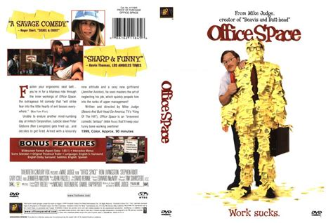 Office Space Dvd Office Space Dvd Scanned Covers 211officespace