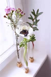 vase basteln reagenzglas vase basteln kreative diy idee