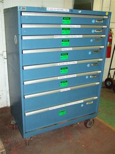 New & Used Modular Drawer Cabinets, Stanley Vidmar, Stor