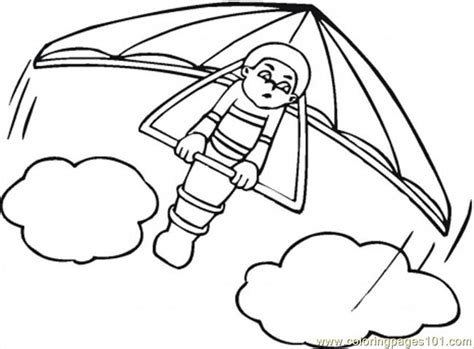 air transportation coloring pages preschool free printable coloring page hang glider transport gt air