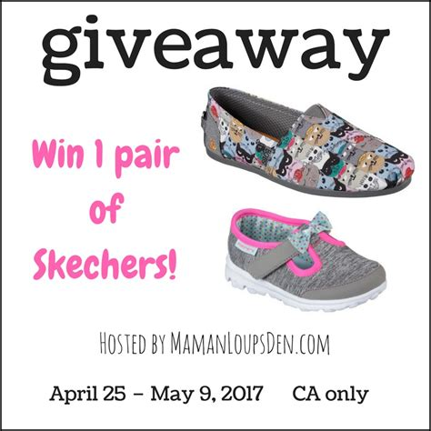 Skechers Giveaway - best 28 win a pair of skechers win a free pair of skechers go walk shoes mama