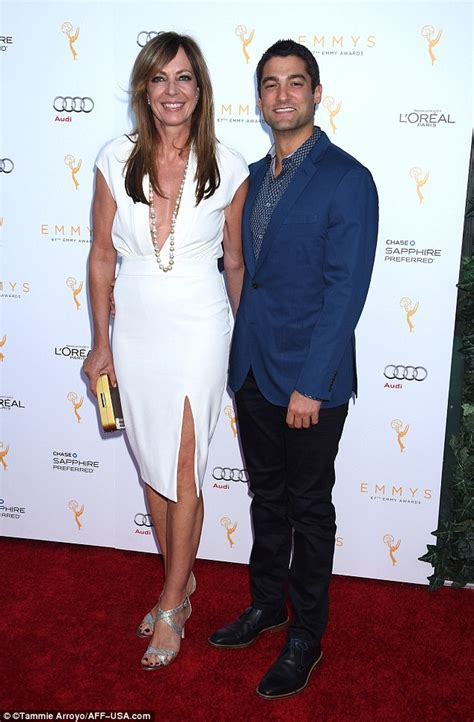 allison janney and boyfriend allison janney and philip joncas at the emmys as she wins