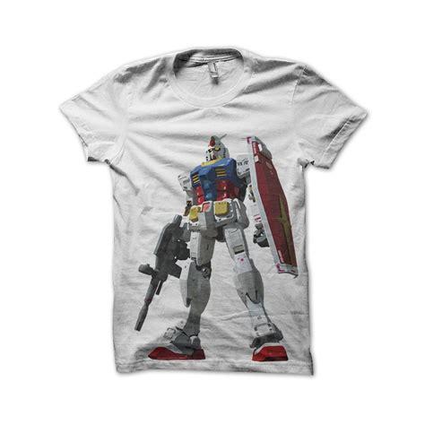 T Shirt Gundam white shirt gundam rx 78