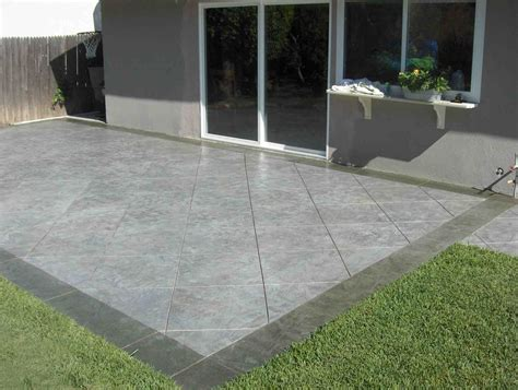 Sted Concrete Patio Builder Arlington In Manassas Concrete Backyard Patio