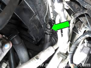 bmw e90 radiator outlet temperature sensor replacement
