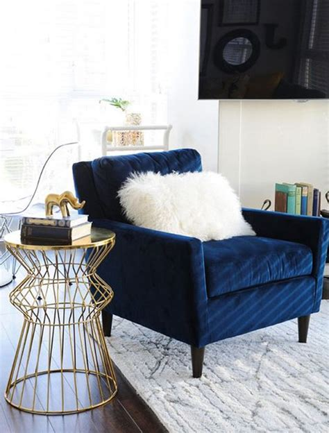 gorgeous accent chair for living room 10 types of chairs with regard navy blue accent chair aswadventure com