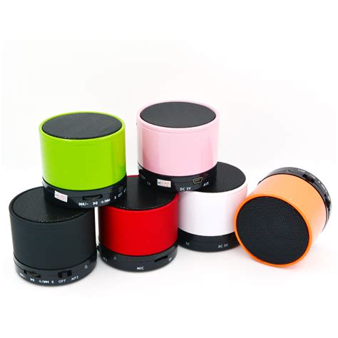cute speakers hand free led light s10 sd card portable bluetooth speaker