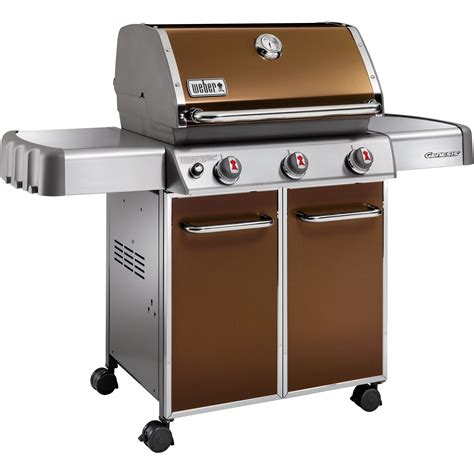 gas grills sears weber 6512001 genesis 3 burner lp gas grill copper