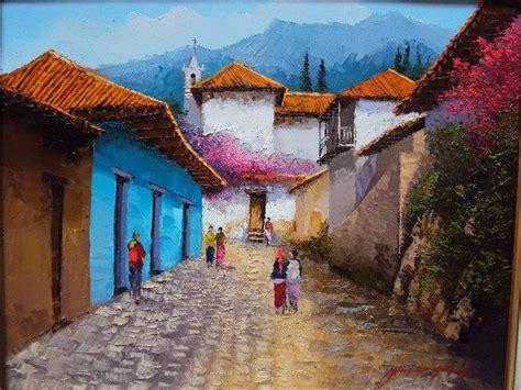 imagenes de paisajes andinos paisajes andinos al oleo por jose mauricio andino garay