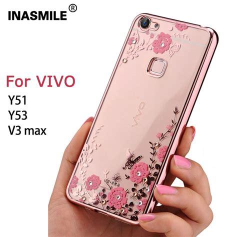 Promo Tpu Vivo Y53 2017 5 0 Inchi Softcase Shining List Chro luxury flower pattern for vivo y51 y53 secret garden series soft plating tpu back