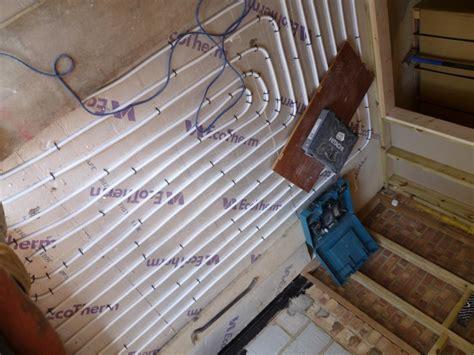 Underfloor Heating Existing Floor by Installing Underfloor Heating With Solid Floors Thegreenage
