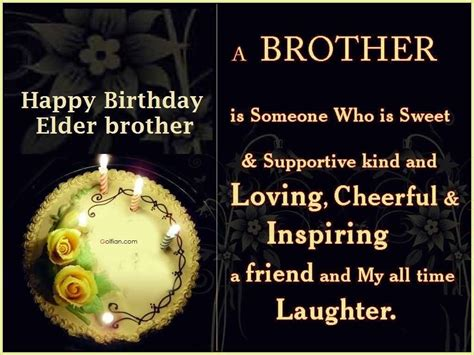 Elder Quotes For Birthday 40 Awesome Birthday Greetings For Elder Brother Best