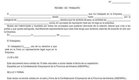 carta de finiquito modelo de carta de denuncia modelos de curriculum