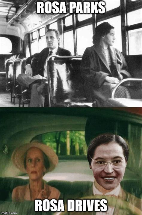 Rosa Parks Meme - in honor of our second february in april in minnesnowta