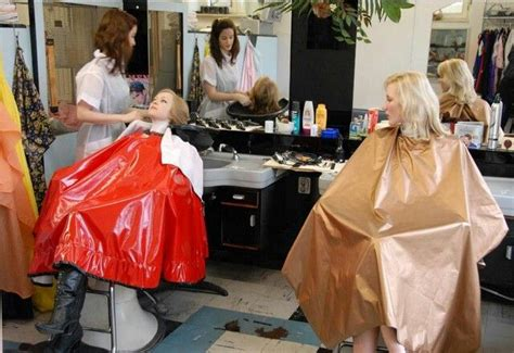 females in pvc getting haircuts women in pvc getting haircuts hairstylegalleries com