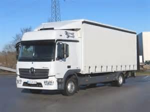 Mercedes Atego Truck Mercedes Atego 1230 L Bigspace Klima Ahk Lbw