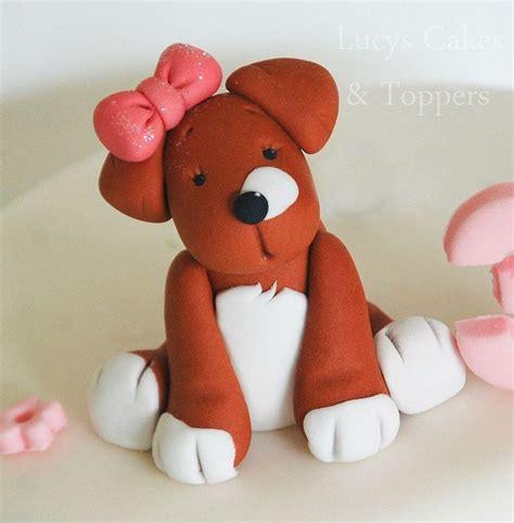 puppy cake topper best 25 cake topper ideas on fondant fondant figures tutorial