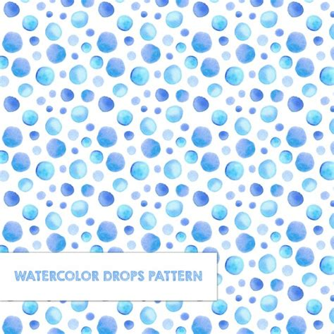 watercolor pattern download pattern with watercolor drops vector free download