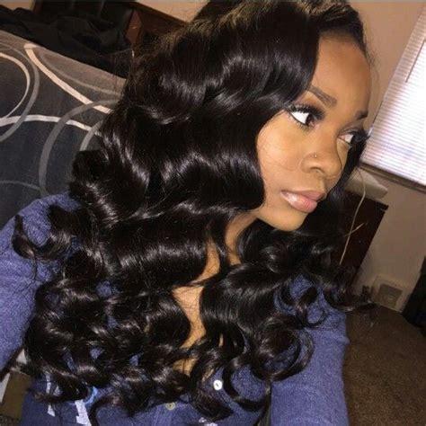 deep wave loose blonde curls with bangs 6a malaysian virgin hair deep wave wand curls indian