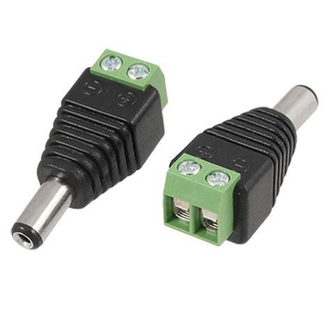 Adaptor 5 Ere 12 Volt Dvr Dan Cctv Adaftor 1a Murah konektor dc power praktis untuk kabel cctv
